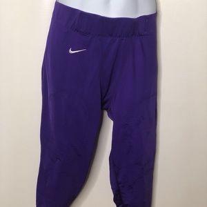 Nike Mens defender football pants NWT purple
